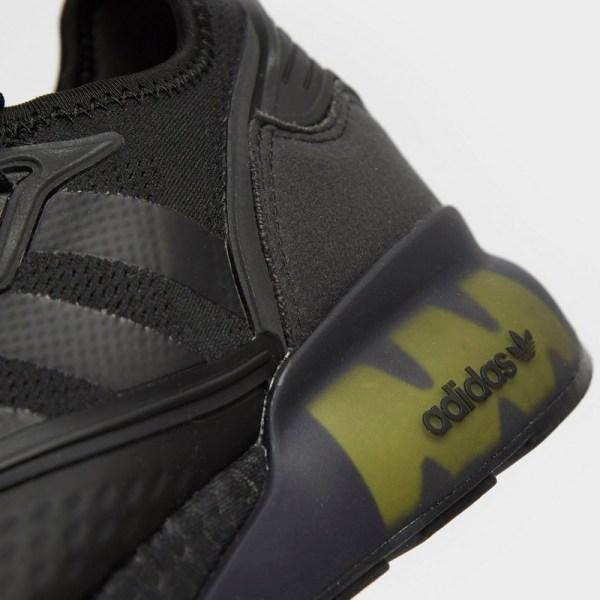Adidas ZX 2K Boost Core Black Solar Yellow