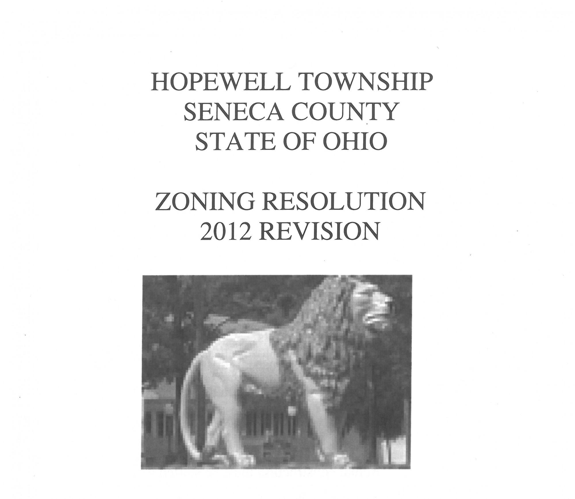 Hopewell Township  Seneca Regional Planning Commission
