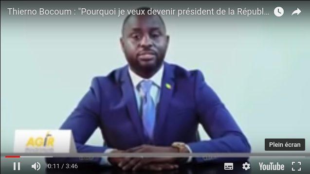 hierno Bocoum déclare officiellement sa candidature