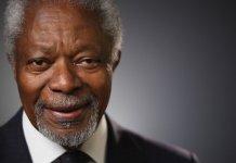 Kofi Annan, l'ancien secrétaire général de l'ONU et prix nobel de la paix est mort à l'age de 80 ans.