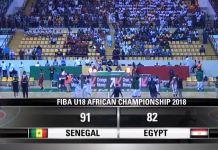 Afrobasket U18 – Le Sénégal est en finale