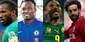 Ligue des Champions UEFA: Voici le TOP 10 des meilleurs buteurs africains