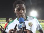 """Qualification des """"lions"""": la réaction lucide du buteur Sidy Sarr. Sidy Sarr est sorti du banc hier, mardi, pour offrir la victoire au Séné"""