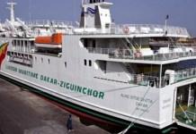 """Macky ordonne l'arrêt technique du bateau """"Aline Sitoé Diatta"""" Le président Macky Sall et son gouvernement ont pris le dossier du bateau en m"""