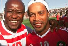 Khalidou Fadiga à Ronaldinho : « Même si je ne suis pas d'accord avec lui… » Kalidou Fadigaen toute complicité avecRonaldinho. L'ancien gau