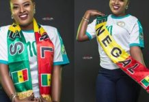 ( 05 Photos ) Voici la sublime Sabel Dieng l'une des plus belle supportrice des Lions