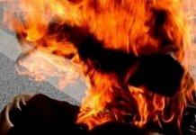 Thiès : Le père brûlé vif a rendu l'âme, son fils arrêté