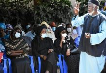 Levée du corps du journaliste Babacar Touré