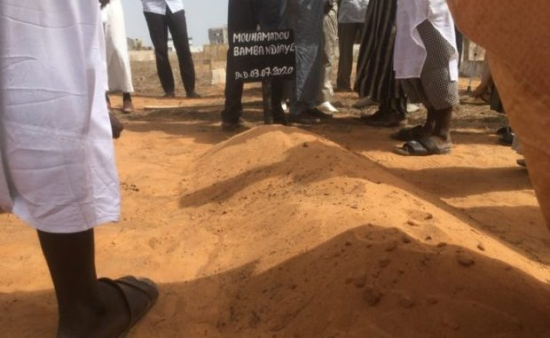 Inhumation : Mamadou Bamba Ndiaye repose désormais à Yoff. (05 PHOTOS)