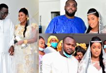 Les Images du mariage de Nora Ba la fille du ministre Amadou Ba avec Matar Fall
