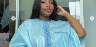 Tabaski 2020: Admirez le « sagnsé » très classe de Venus, la fille de Youssou Ndour