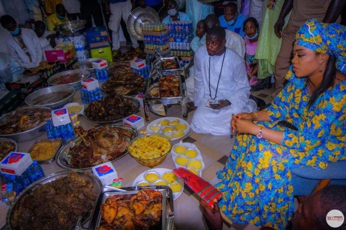 Magal : L'incroyable « dîner berndé » de Sokhna Aïda Diallo (Photos)