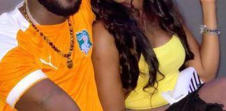 Photos – Ces clichés de Queen Bizz avec l'artiste ougandais Eddy Kenzo, font polémique