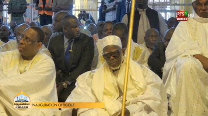 (05 photos) Massalikoul Jinane : Macky Sall et Me Abdoulaye Wade enfin réconciliés