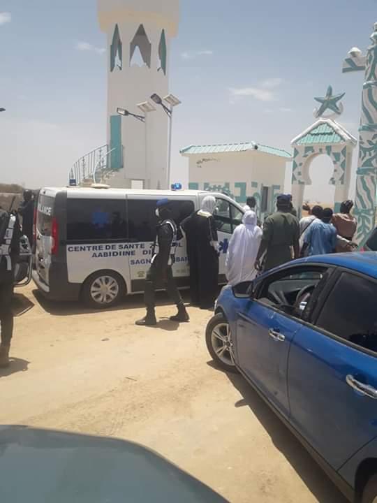 (08 Photos) Enterrement de Cheikh Mouhidine Samba Diallo,voici les images déchirantes d'un dernier adieu