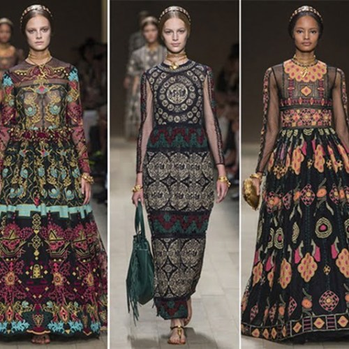 2014 Spring-Summer Trends Ethnic Patterns