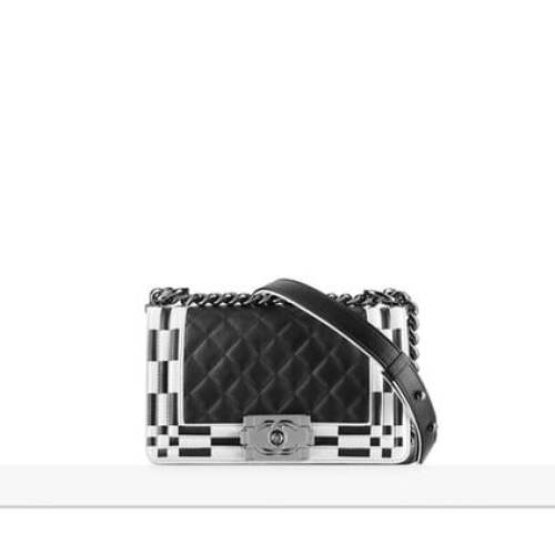 Chanel black boy flap bag