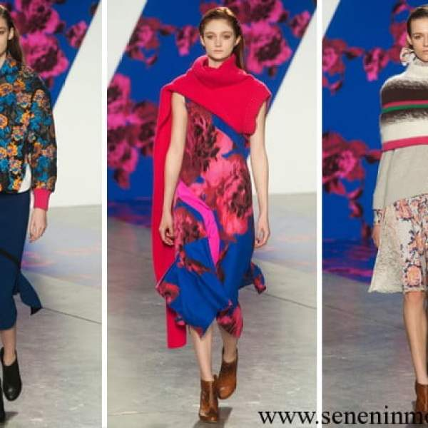 Thakoon 2014 fall-winter collection