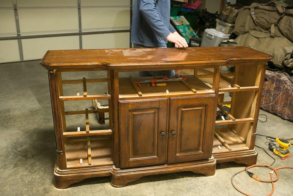 DIY Dresser to Buffet