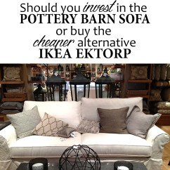 Crate And Barrel Lounge Sofa Pilling Clayton Marcus Sleeper Ikea Ektorp Versus Pottery Barn Grand How To Choose A Couch