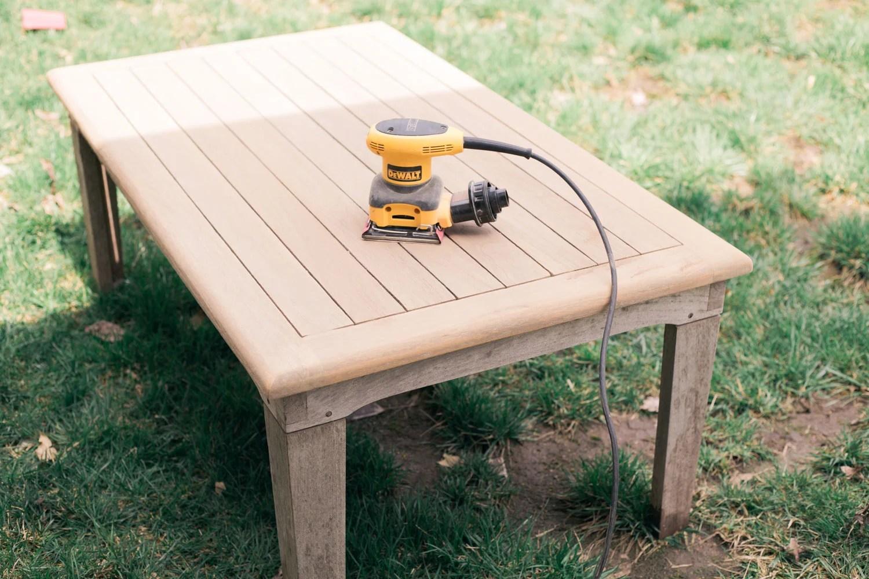 how to pressure wash teak outdoor patio