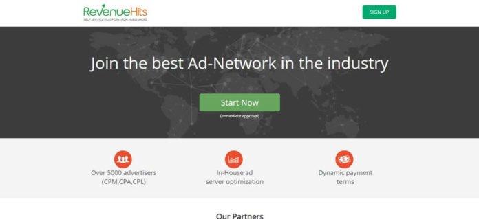RevenueHits alternatif google adsense terbaik
