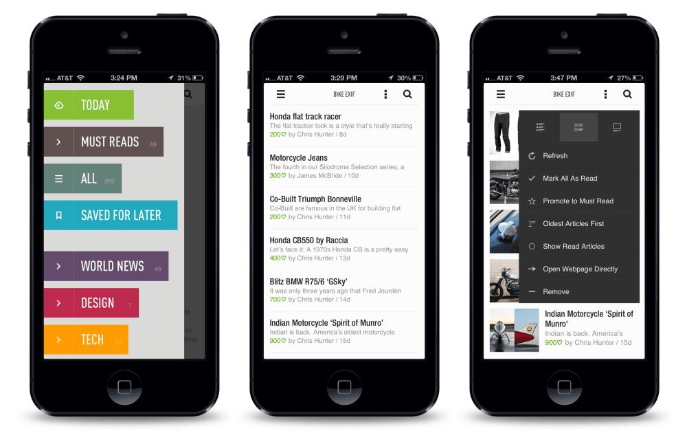 aplikasi iPhone untuk blogger - Feedly (1)