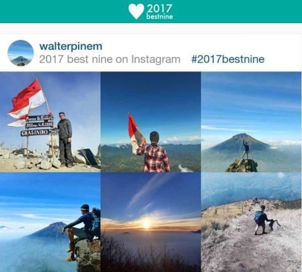 aplikasi pelengkap instagram - 2017 best nine