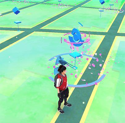 cara bermain pokemon go - pokestop