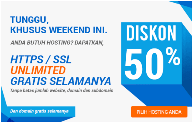 niagahoster diskon weekend