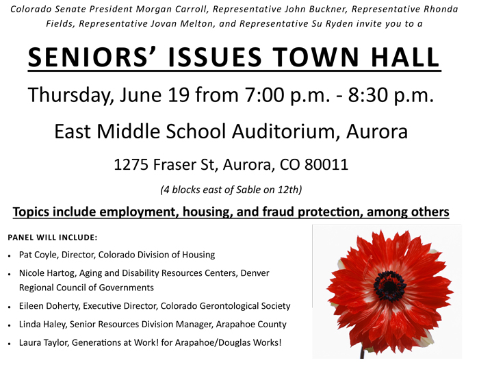 Blog - Seniors Issues Town Hall