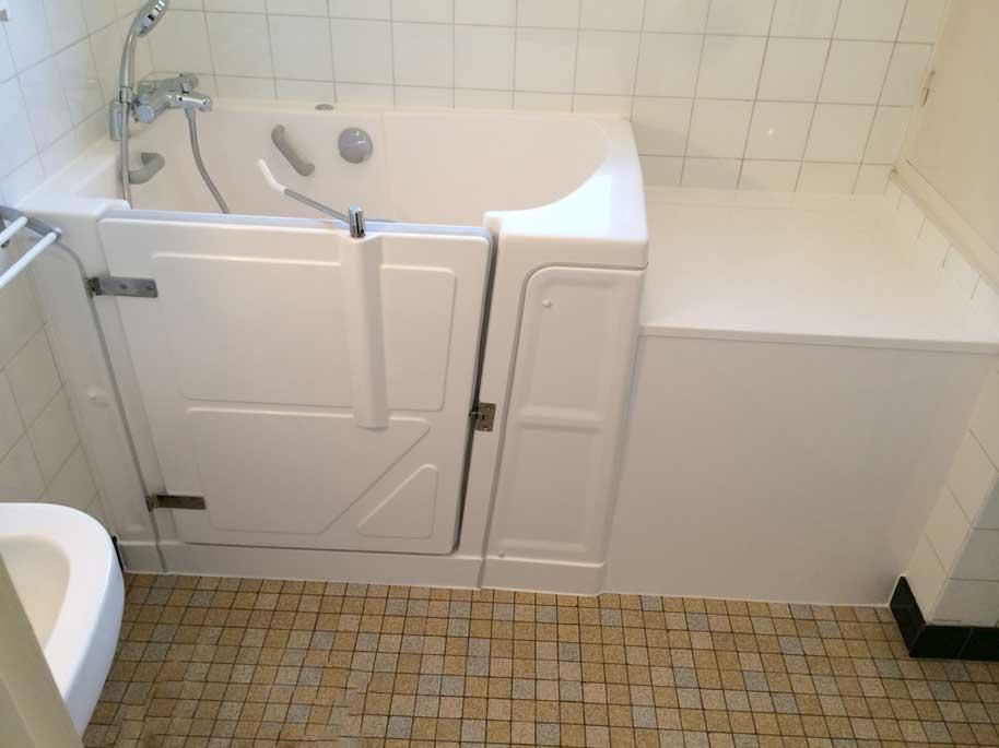 installation baignoire vallon 117 avec