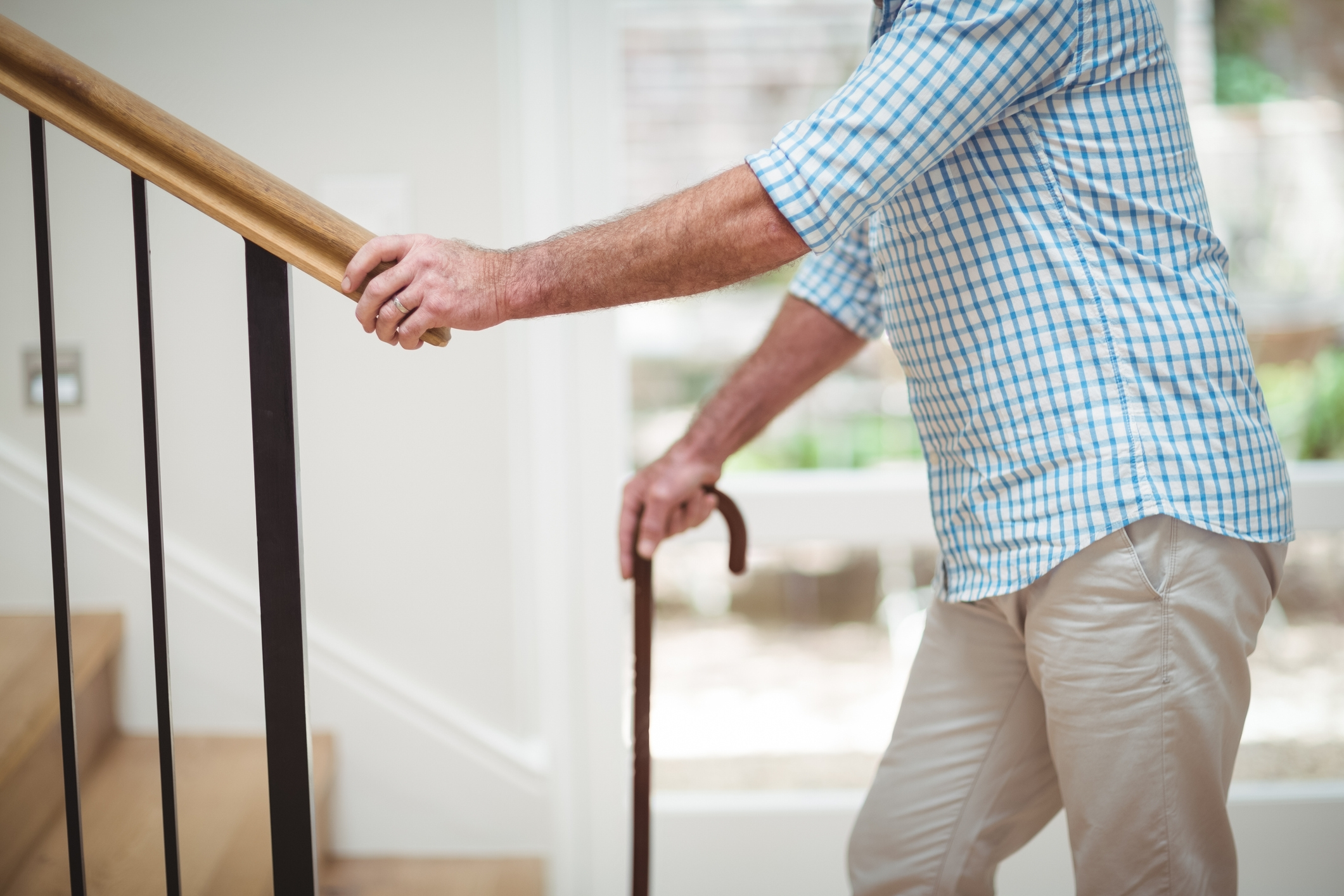 Home Modifications For The Elderly | Outside Handrails For The Elderly | Foshan Demose | Industrial Handrail | Metal Stair Handrail | Front Porch | Wrought Iron