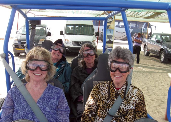 Diane - Grannies in the dunebuggie