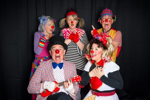Sean Doe Photography. This troupe is making clowning cool - and compassionate.