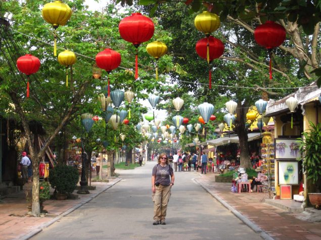 A stroll down the streets of Hoi An in Vietnam