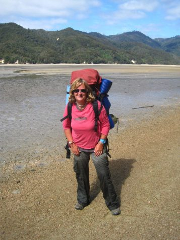Hiking the Abel Tasman trail in New Zealand