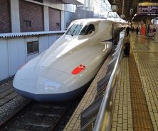 The Shinkansen Network of bullet trains connects Tokyo station to most of the nation's major cities.