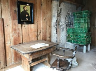 Luther's room at Wartburg Castle