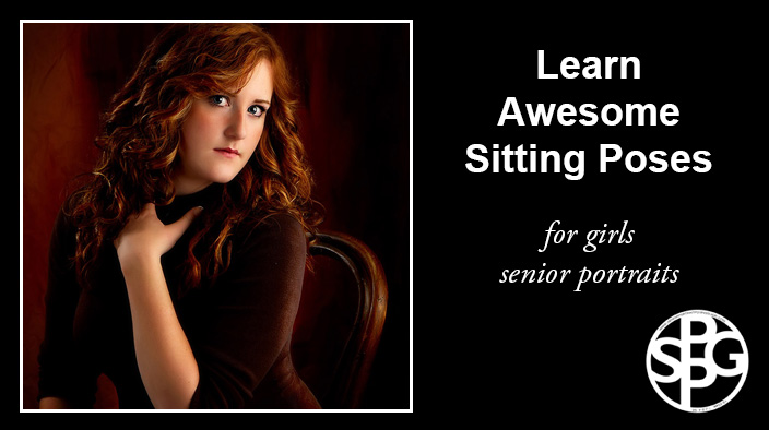 Learn Awesome Natural Sitting Poses for Girls Senior Portraits