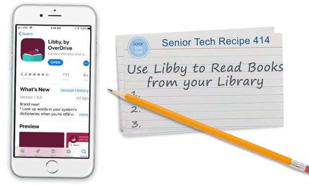 Use Libby to Read Books from your Library