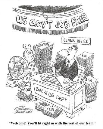 Huge backlog result of broken Social Security bureaucracy