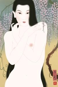 bijinga, shunga painting, shunga art, ukiyo-e