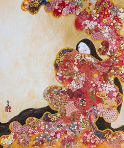 erotic shunga art by senju