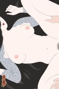 senju, horimatsu, shunga, erotic, erotica, japanese, japan, umeå, sweden, porn, pornography,, irezumi, japanese tattoo, breasts, tits