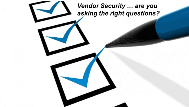 Demand Security from your Vendors