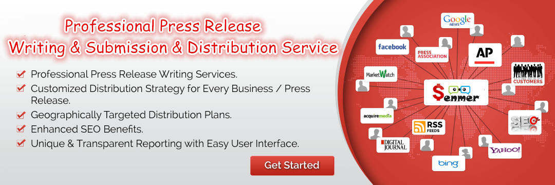 Senmer News Wire Press Release Distribution Service