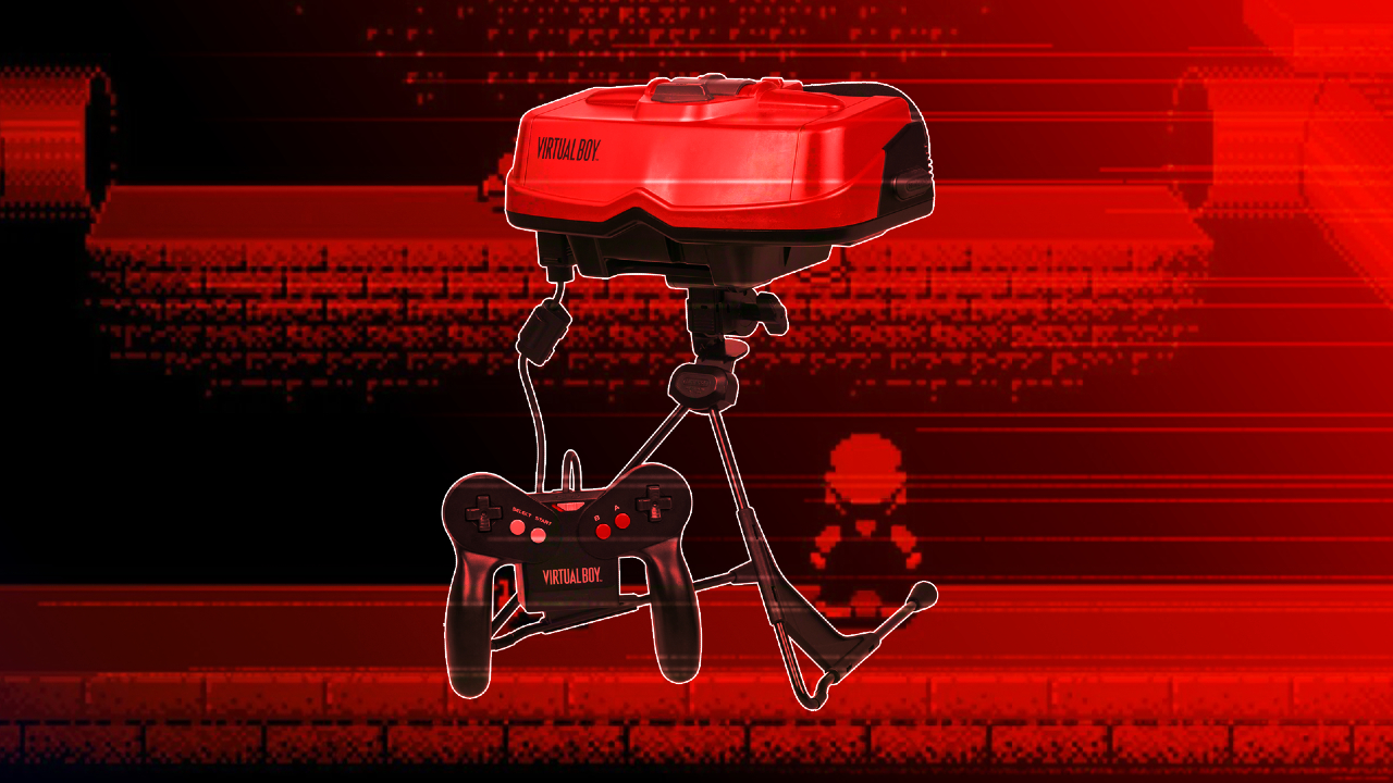 Virtual Boy: El mayor fracaso de la historia de Nintendo
