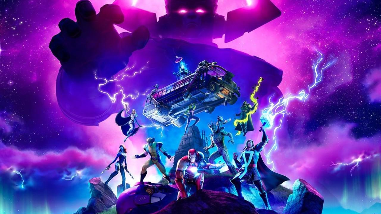 Así fue el evento de Galactus en el final de la temporada 4 de Fortnite
