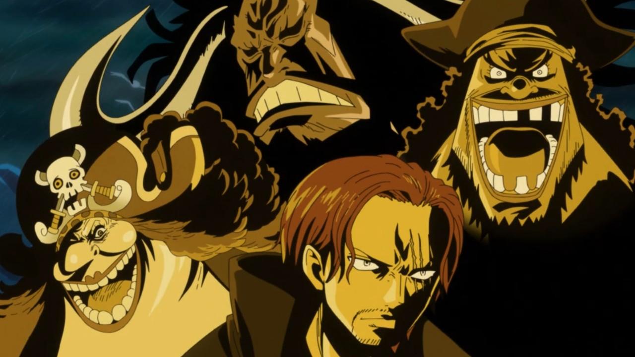one piece los cuatro emperadores personajes